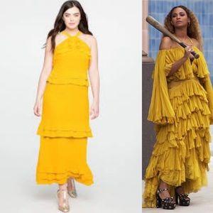 Eloquii Yellow Lemonade Dress Beyoncé Inspired